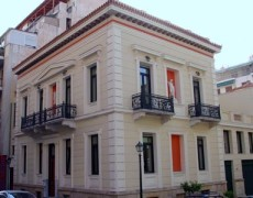 Neo-Classical building restoration, Piraeus
